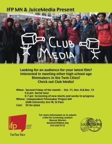 Club Media poster
